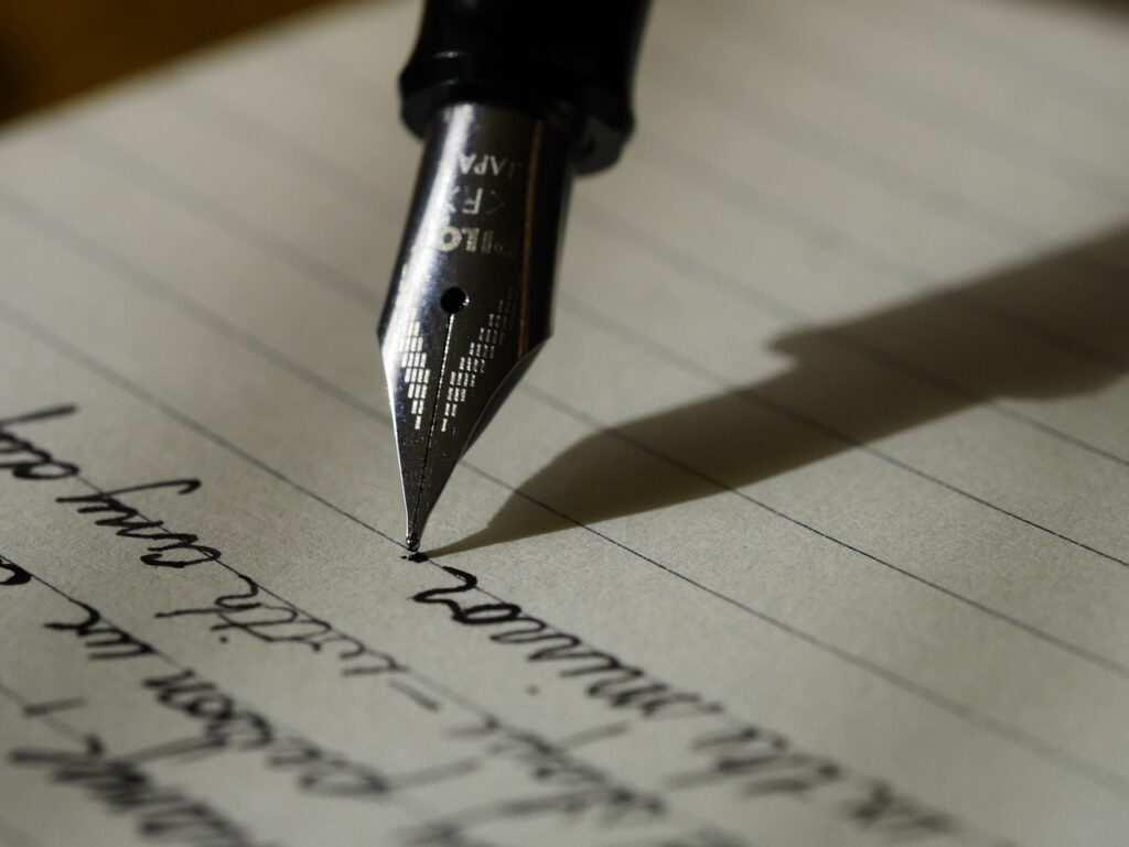 Communication by writing