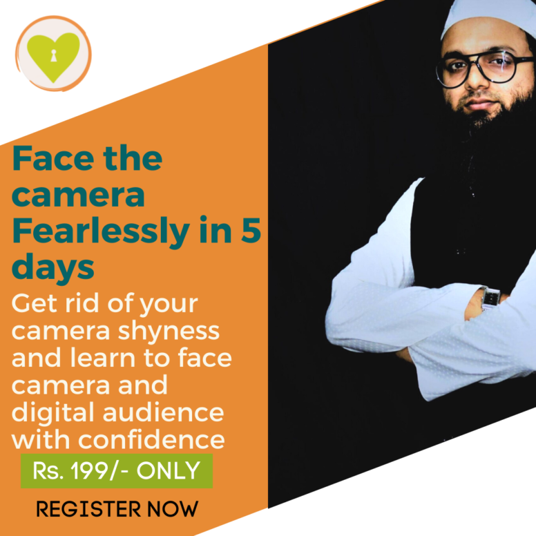 Face the Camera Fearlessly, 5 days Workshop